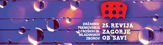 Velik uspeh naših zborov na 25. reviji v Zagorju ob Savi 2016